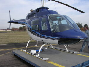 IMC Helicopter Camera Mount on Bell 206